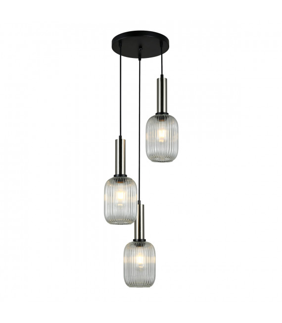 Suspension design Antiola Nickel satiné