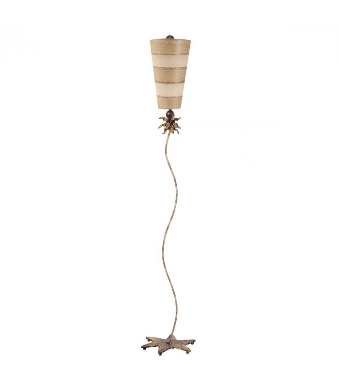 Suspension anemone, taupe et or, 1 ampoule