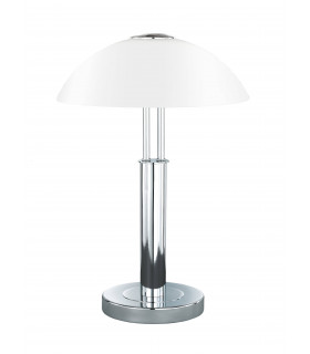Lampe de table PRESCOT chrome 2 ampoules
