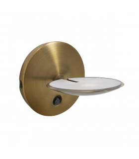 Applique murale Oundle bronze satiné 1 ampoule