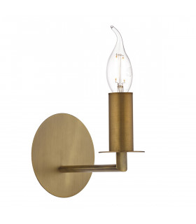 Applique murale Tyler bronze antique et  1 ampoule