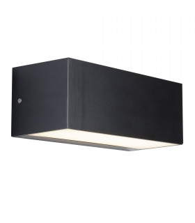 Applique 14W Led Outdoor, polycarbonate, anthracite